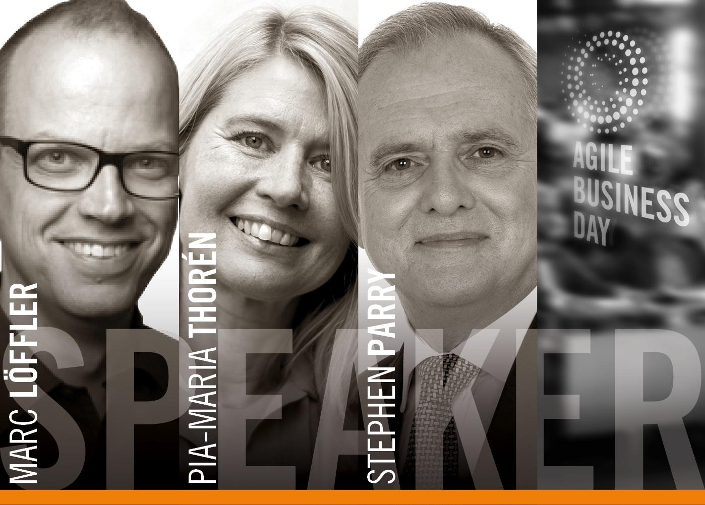 Marc Löffler, Stephen Parry,Pia-Maria Thorén