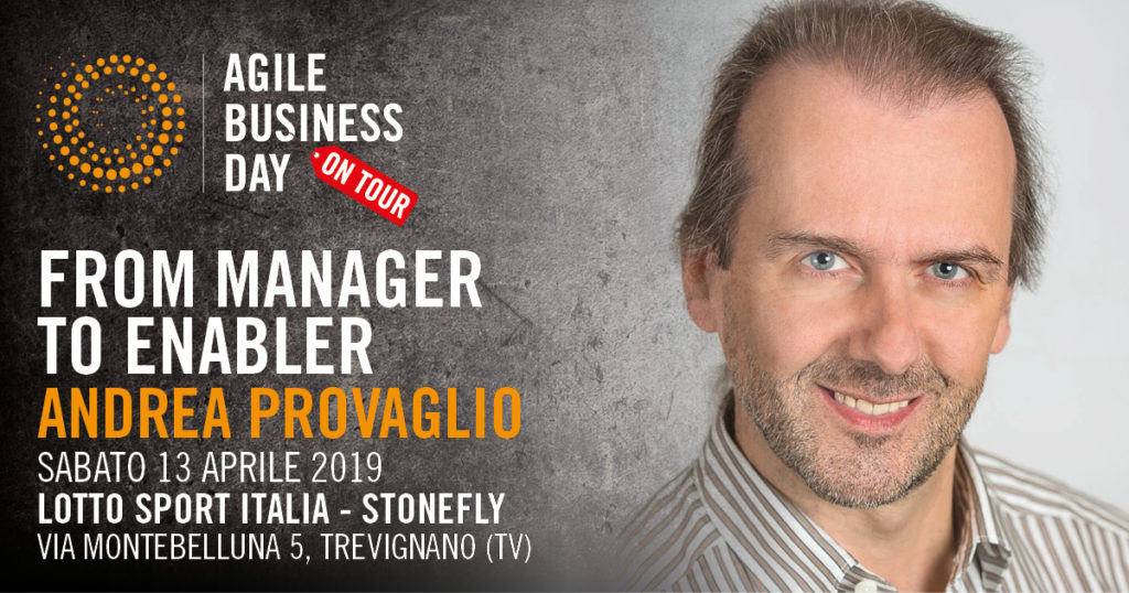 From Manager to Enabler @Andrea Provaglio