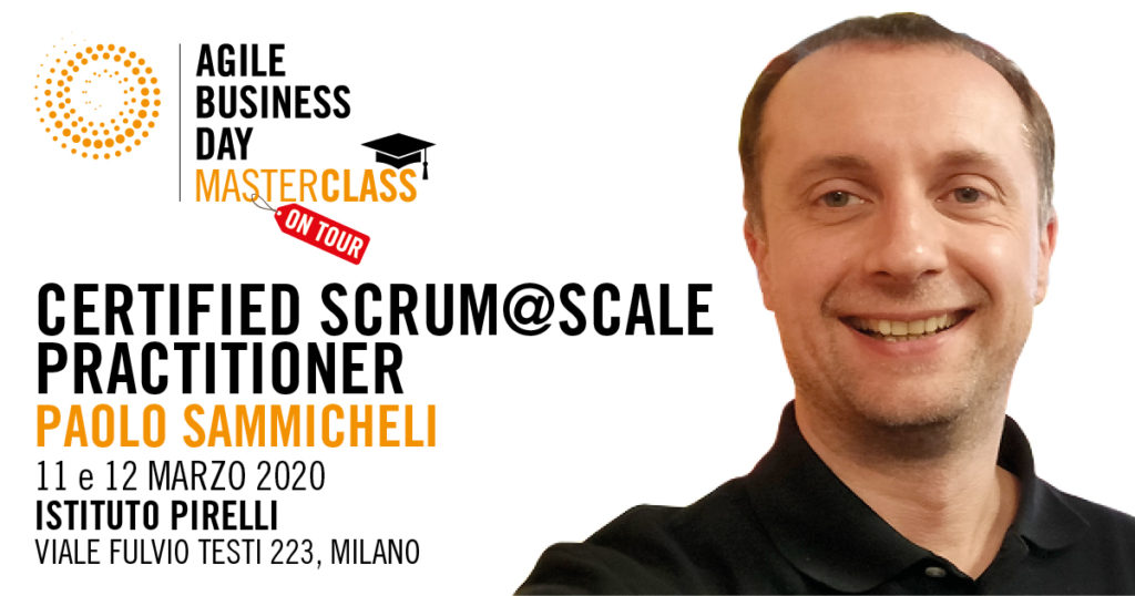 Certified Scrum@SCALE PRACTITIONER  #08
