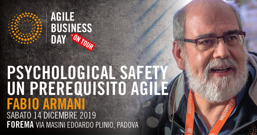 Psychological Safety – un prerequisito Agile